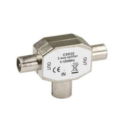 Antennsplitter T-stycke