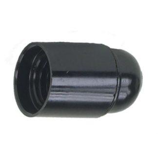Lamphållare E27 svart