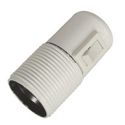 Lamphållare E27 vippströmbrytare
